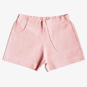 Kinder Shorts mit Fronttaschen in rot-weiß-gestreift